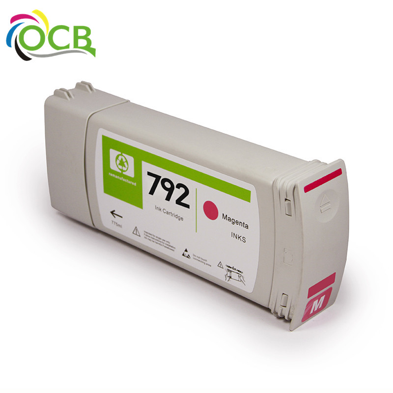 Ocbestjet Recycling Inkjet Ink Cartridge 792 For HP Latex 210 260 280 L26100 L26500 L28500 Printer