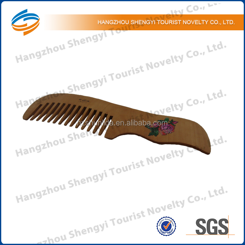 2014 Eco Friendly Moustache and Beard Comb Manufacturer