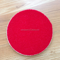 Natural White Wool Felt Polishing Pads