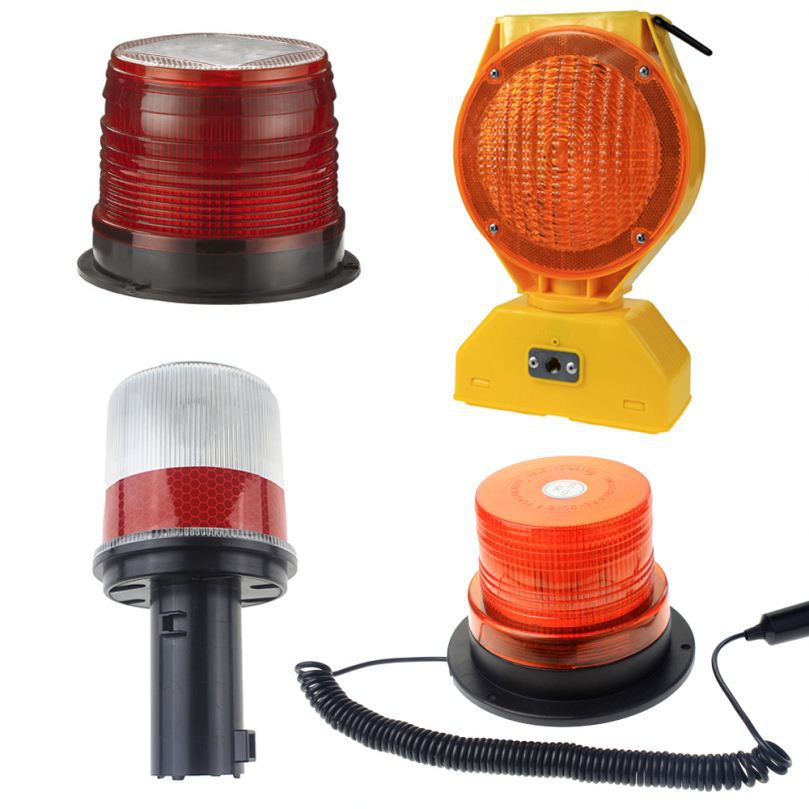 Popular solar powered led beacon with LED