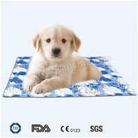 Finerolls Comfort Pet Chill Seat Pad Self Cooling Bed Gel Pads Summer Ice Cool Sleeping Bed Mat for Dogs Cats