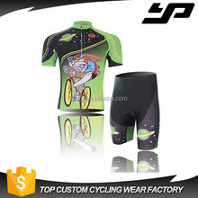 Sublimation digital printing short sleeve quick dry custom cycling jerseys