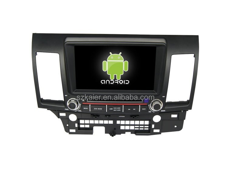 Quad core 2 din car dvd player,Bluetooth,MIRROR-CAST,AIRPLAY,DVR,Games,Dual Zone,SWC for Mitsubishi Lancer EX