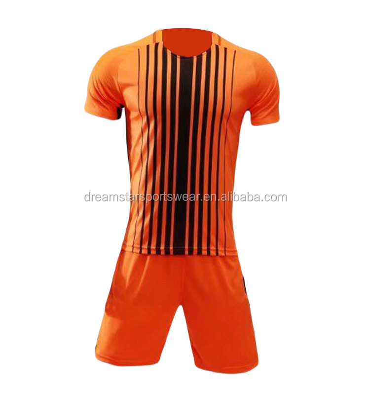 2019-20 High Quality Man 100%Polyester Soccer Uniform