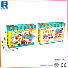 Factory directly supply play dough with plastic container for school
