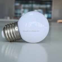 Chinese Manufacturer G45 cool white holiday decoration 0.5w 1 watt 110V 220 Volt E27 multicolor led light bulb