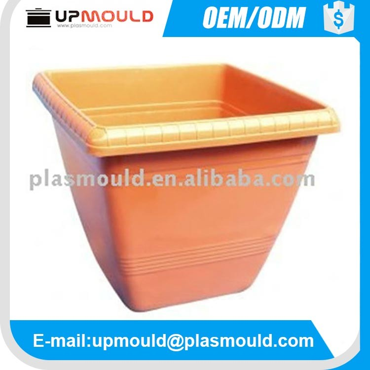 oem/odm custom plastic injection flower pot mould/mold molding/moulding