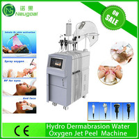 new style water oxygen Wrinkle removal fine lines spider veins removal oxygen jet