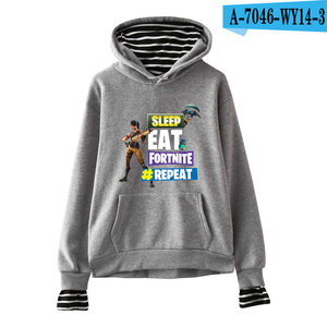 Wholesale Fashion For Girls New Hoodies Fortnite Hoodies Loose Women Hooded Long Sleeves Sweatshirts