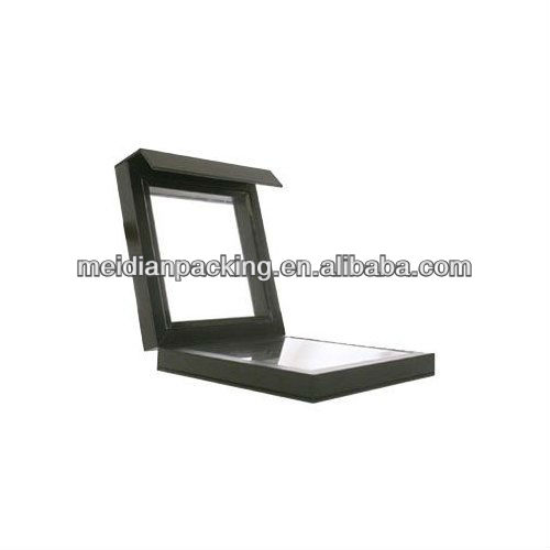 Black wood magnetic jewelry box photo frame and shadow box