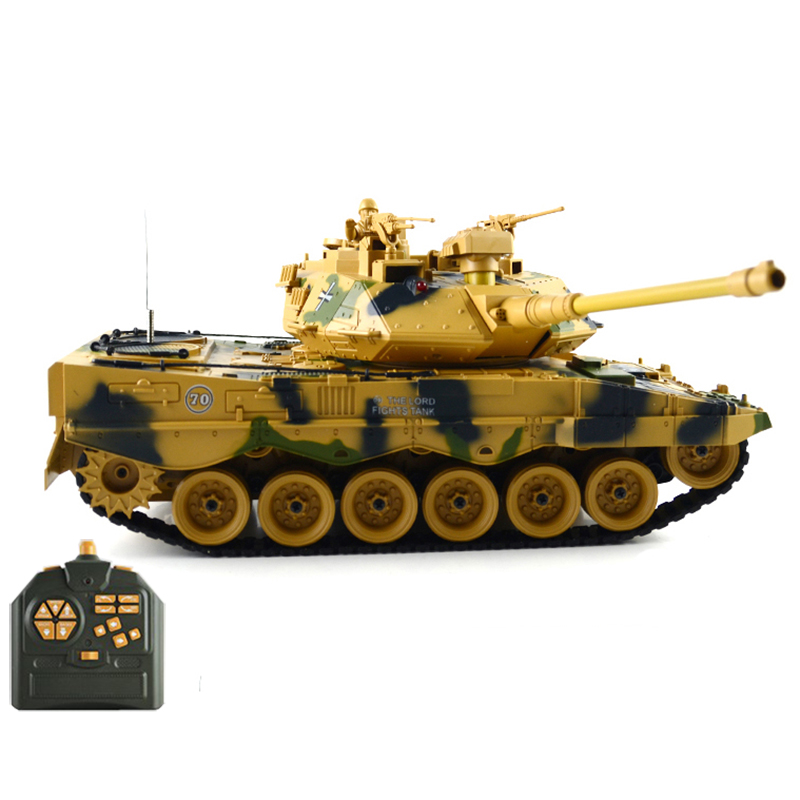 2016 Funny Item Simulation German Leopard 2 Shooting Military Tank