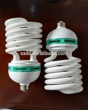 China Supplier Factory sale directly 65w 85w 105w spiral energy saving lamp high power CFL 85W half spiral