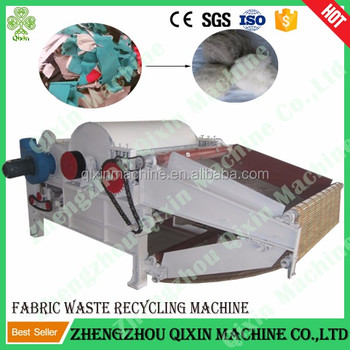 cotton waste carding machine / fabric cotton waste recycling machine