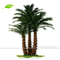 GNW APM046 Miniature Artificial Washingtonia Palm Tree for outdoor decoration