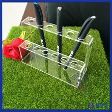 Clear acrylic make up lipstick E-cigarette and pen display stand holder rack wholesale