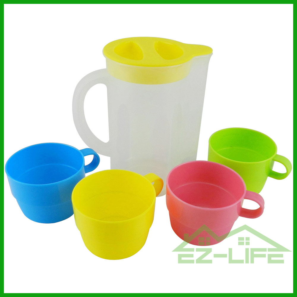 Best New design brita cheap custom plastic water pitcher with 1 fliter