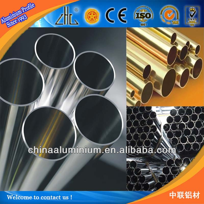 YaLian Brand 6063 Round aluminium tube/pipe factory in China