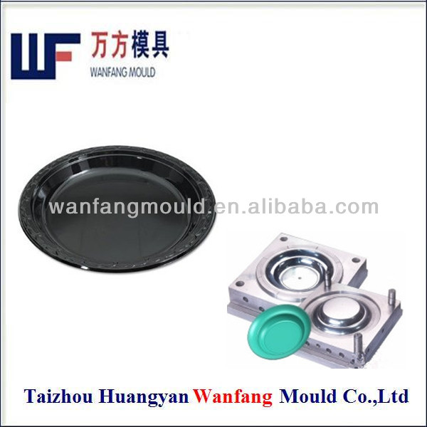 oem plastic cutlery dish injection mould/pp dish mould making