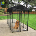 "Alibaba China - industry's deluxe kennel with 2""x4"" fire fabric welded to 1 3/8"" galvanized pipe frames"