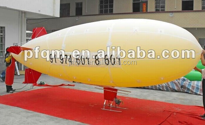 Good Quality Customized Helium RC(Remote Control) Blimp for sale in China