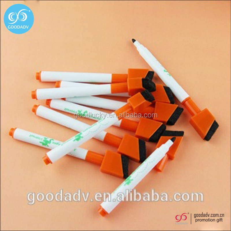 Guangzhou wholesale dry erase marker pen black ink whiteboard pen