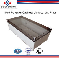 IP65 Electrical Distribution Boxes Size 630*400*219mm Polyester Enclosures