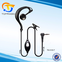 Cheap Radio Earpiece For Motorola 2 Connector T6200 T6210 T6220 T6250 T270 T280 T289 T5100 2.5mm Jack PTT Cheap Radio Earpiece