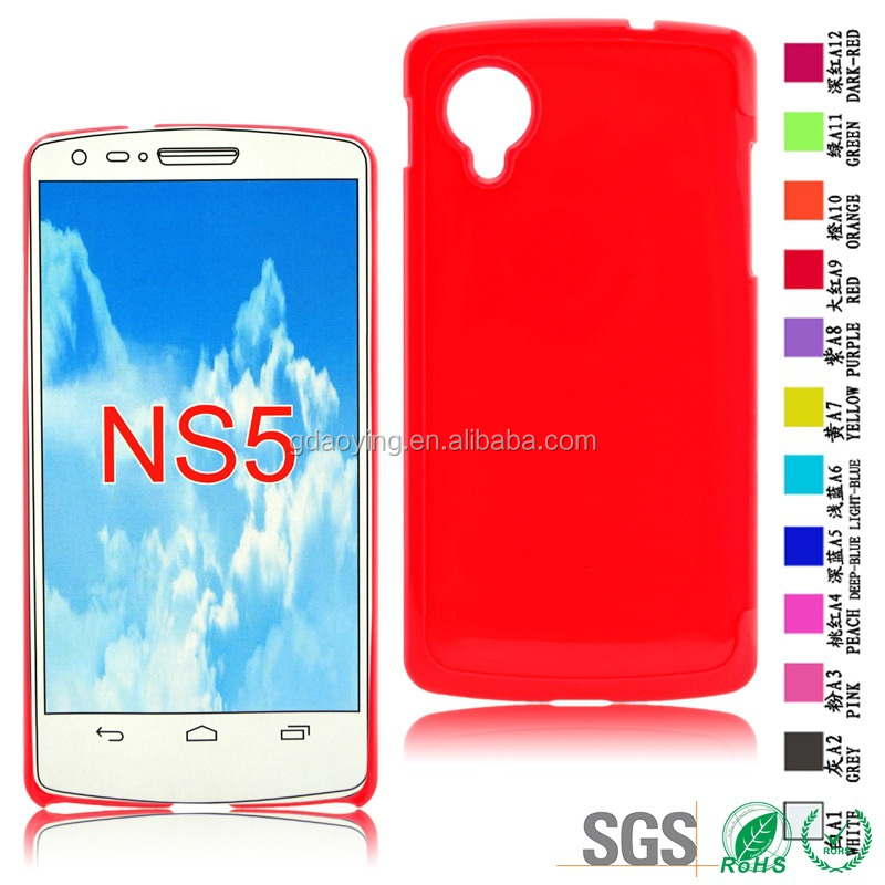 Hard Material Phone case hard plastic mobile phone back case for LG Nexus 5