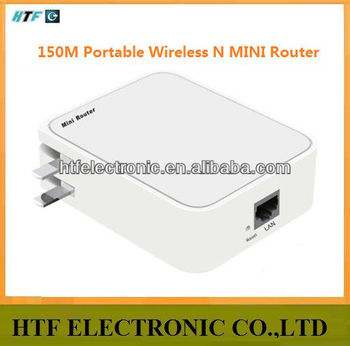 OEM Portable desktop 150M protocol 1 LAN/WAN port 2.4G wifi Wireless Network Router module with batlery it