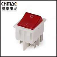 30a rocker switch electric switch and socket kcd switch yueqing manufacturer