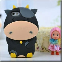 Newest 3D Disney Cartoon Silicone Soft Case Skin Cover For I phone 4 4S 4G 5 5G