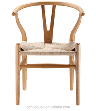 solid ash wood hans wegner Y chair for wholesale