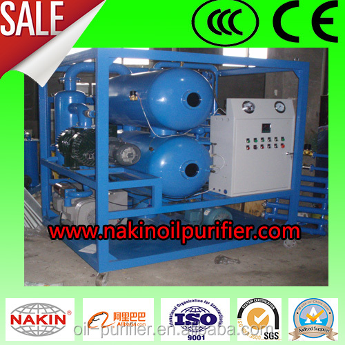 NAKIN Unqualified Dielectric Oil Purifier dehydration & edulcoration