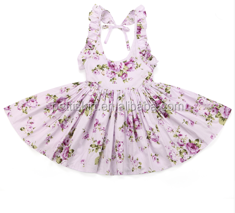 China suppliers girls dress names with pictures flower dress readymade garments