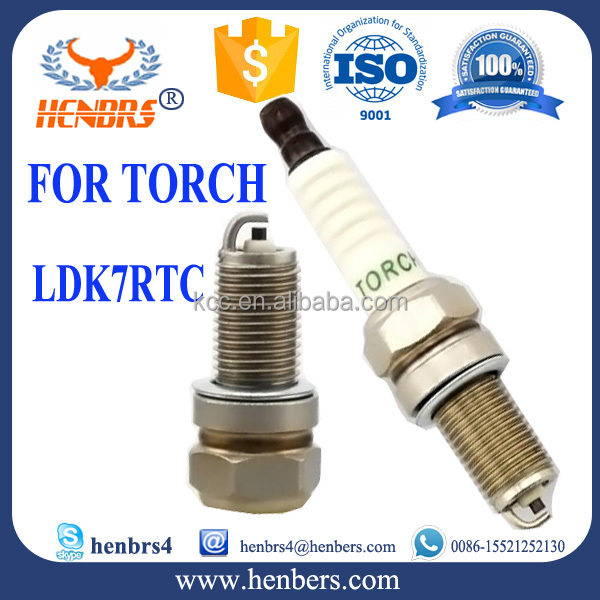 Natural gas engine spark plug for TORCH LDK7RTC ignition
