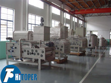 Dehydration of the coal mud large capacity belt press filter,continuous operation belt press filter for sale