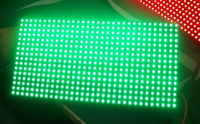 P10 Green Color 1G Outdoor Waterproof Single Color LED Display Screen Module 320*160mm