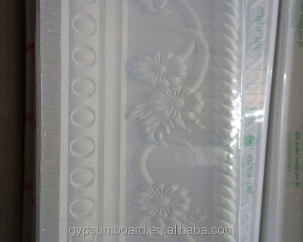 2014 new design architectural gypsum cornice line