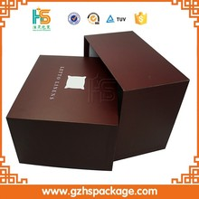 Printing Customized Brown Cardboard Large Pillow Boxes, Cheap Wholesale High Quality Rectangle Packaging Box