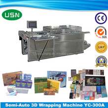 High quality Manual horizontal wrapping machine