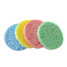 wholesale compressed cellulose facial cleansing sponge