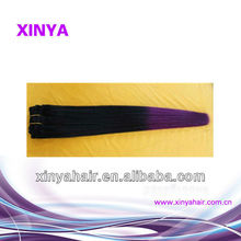Victoria secret two tone colored sliky straight filipino long hair