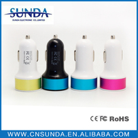 Alibaba Express 3.1A Dual Usb Car Charger,Double Usb Car Charger,Multi Port Usb Chargers