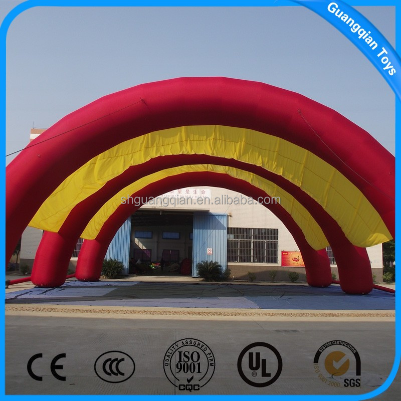 Guangqina 2015 Hot Sale Giant Trade Show Inflatable Tent For Sale