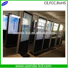 "42"" Touch Floor Standing Professional Auto Temperature Control Large Size indoor Digital Signage"