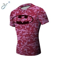 Pink Unisex Outdoor Training Camouflage T Shirts Wholesale