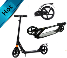 200mm big wheels kick foot scooter for teenagers