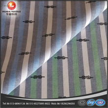cotton yarn dyed stripe oxford fabrics for mens cloth