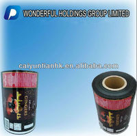 Super/good quality printing roll film packaging, shrink lable for chocalate, candy snack, etc