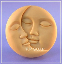 angel face silicone molds/ candle molds wholesale